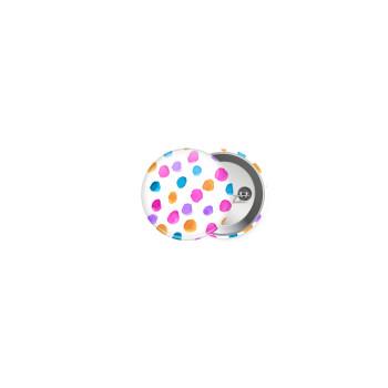 Watercolor dots, Κονκάρδα παραμάνα 2.5cm