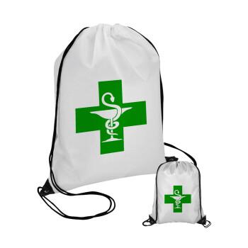 Φαρμακείο, Τσάντα πουγκί με μαύρα κορδόνια 45χ35cm (1 τεμάχιο)
