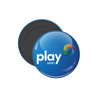 Play by ΟΠΑΠ, Μαγνητάκι ψυγείου στρογγυλό διάστασης 5cm