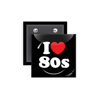 I Love 80s, Κονκάρδα παραμάνα τετράγωνη 5x5cm