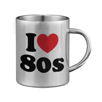 I Love 80s, Κούπα ανοξείδωτη διπλού τοιχώματος μεγάλη 350ml