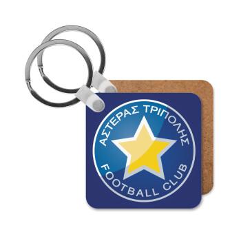 Αστέρας Τρίπολης, Μπρελόκ Ξύλινο τετράγωνο MDF 5cm (3mm πάχος)