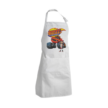 Ο Μπλέιζ και οι Φίλοι του, Ποδιά μαγειρικής BBQ Ενήλικων