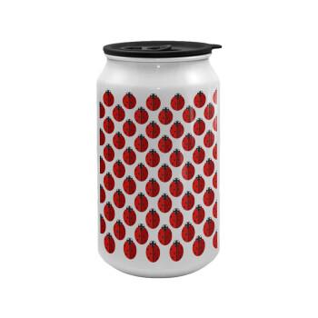 Πασχαλίτσα, Κούπα ταξιδιού μεταλλική με καπάκι (tin-can) 500ml