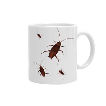 Κατσαρίδα, Κούπα, κεραμική, 330ml (1 τεμάχιο)