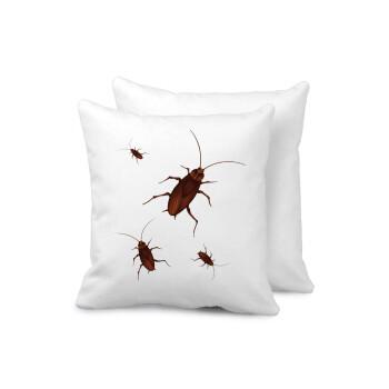Κατσαρίδα, Μαξιλάρι καναπέ 40x40cm περιέχεται το γέμισμα