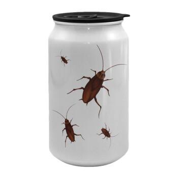 Κατσαρίδα, Κούπα ταξιδιού μεταλλική με καπάκι (tin-can) 500ml