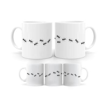 Μυρμήγκια, Κούπα, κεραμική, 330ml (1 τεμάχιο)