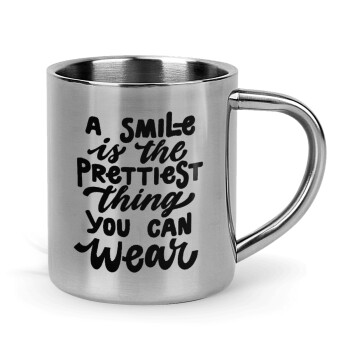 A smile is the prettiest thing you can wear,