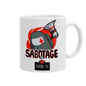 Among US Sabotage, Κούπα, κεραμική, 330ml (1 τεμάχιο)