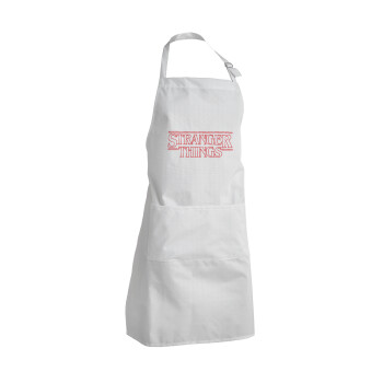 Stranger Things Logo, Ποδιά μαγειρικής BBQ Ενήλικων