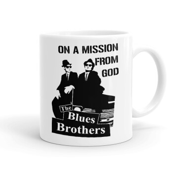 Blues brothers on a mission from God, Κούπα, κεραμική, 330ml (1 τεμάχιο)