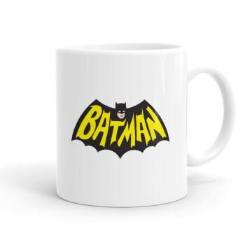 Batman classic logo, Κούπα, κεραμική, 330ml (1 τεμάχιο)