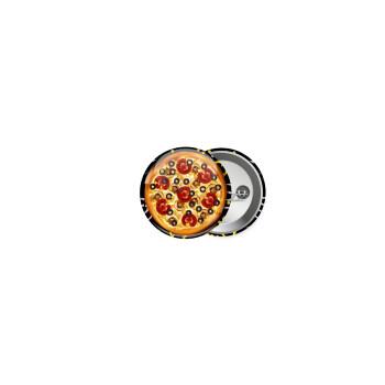 Pizza, Κονκάρδα παραμάνα 2.5cm