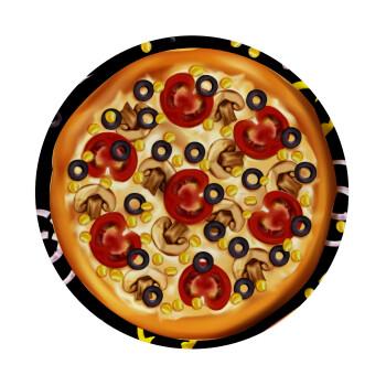Pizza, Mousepad Στρογγυλό 20cm
