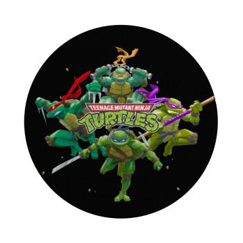 Ninja turtles, Επιφάνεια κοπής γυάλινη στρογγυλή (30cm)