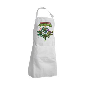 Ninja turtles, Ποδιά μαγειρικής BBQ Ενήλικων