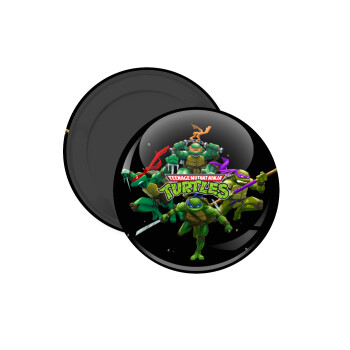 Ninja turtles, Μαγνητάκι ψυγείου στρογγυλό διάστασης 5cm