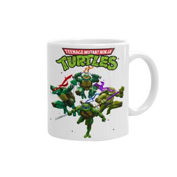 Ninja turtles, Κούπα, κεραμική, 330ml (1 τεμάχιο)
