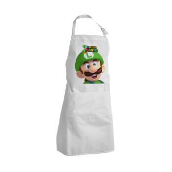 Super mario Luigi, Ποδιά μαγειρικής BBQ Ενήλικων