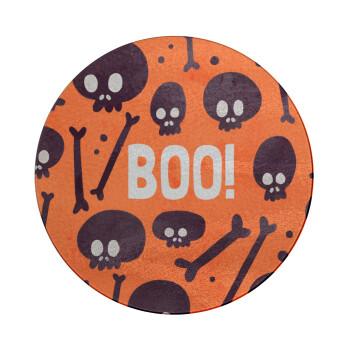 Halloween boo, Επιφάνεια κοπής γυάλινη στρογγυλή (30cm)