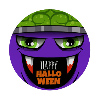Halloween trick or treat Monster, Mousepad Στρογγυλό 20cm