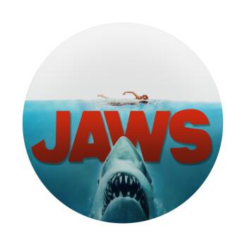 Shark jaws, Mousepad Στρογγυλό 20cm