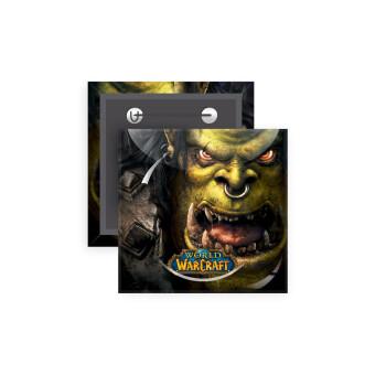 Worl of Warcraft, Κονκάρδα παραμάνα τετράγωνη 5x5cm