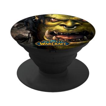 Worl of Warcraft, Pop Socket Μαύρο Βάση Στήριξης Κινητού στο Χέρι