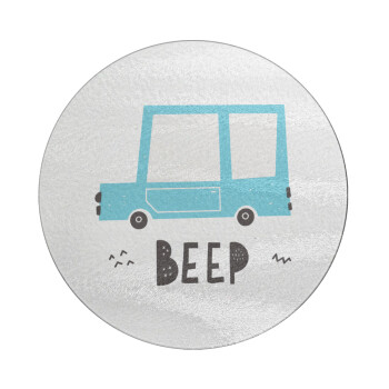 Car BEEP..., Επιφάνεια κοπής γυάλινη στρογγυλή (30cm)