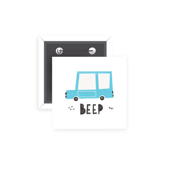 Car BEEP..., Κονκάρδα παραμάνα τετράγωνη 5x5cm