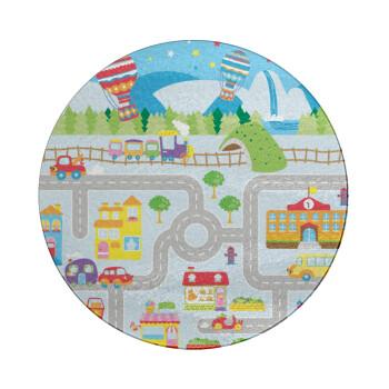 City road track maps, Επιφάνεια κοπής γυάλινη στρογγυλή (30cm)
