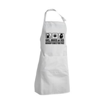 Gas, Grass or Ass, Ποδιά μαγειρικής BBQ Ενήλικων