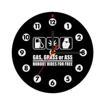 Gas, Grass or Ass,