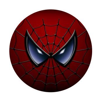 Spiderman mask, Mousepad Στρογγυλό 20cm