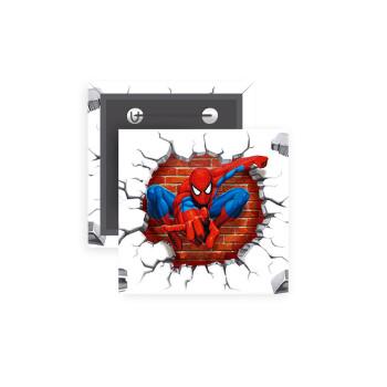 Spiderman wall, Κονκάρδα παραμάνα τετράγωνη 5x5cm