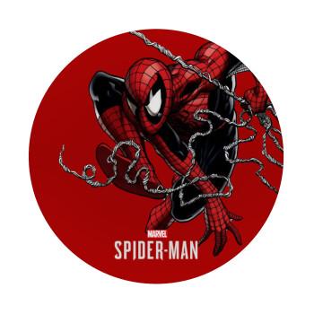 Spider-man, Mousepad Στρογγυλό 20cm