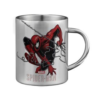 Spider-man, Κούπα ανοξείδωτη διπλού τοιχώματος μεγάλη 350ml
