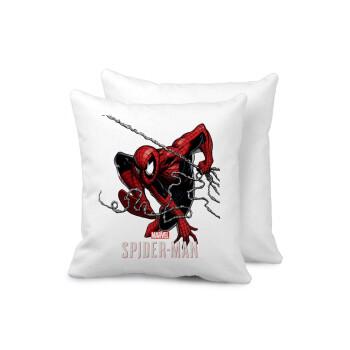 Spider-man, Μαξιλάρι καναπέ 40x40cm περιέχεται το γέμισμα