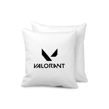 Valorant, Μαξιλάρι καναπέ 40x40cm περιέχεται το γέμισμα