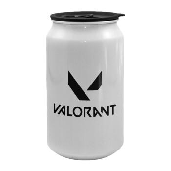 Valorant, Κούπα ταξιδιού μεταλλική με καπάκι (tin-can) 500ml
