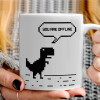 You are offline dinosaur