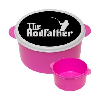 The rodfather, ΡΟΖ παιδικό δοχείο φαγητού πλαστικό (BPA-FREE) Lunch Βox M16 x Π16 x Υ8cm
