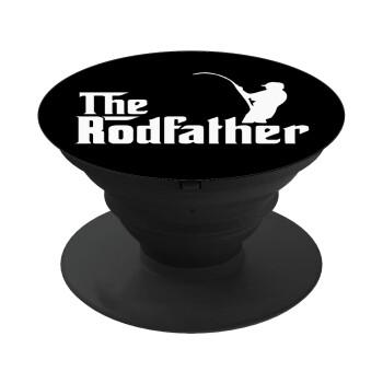 The rodfather, Pop Socket Μαύρο Βάση Στήριξης Κινητού στο Χέρι