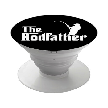 The rodfather, Pop Socket Λευκό Βάση Στήριξης Κινητού στο Χέρι