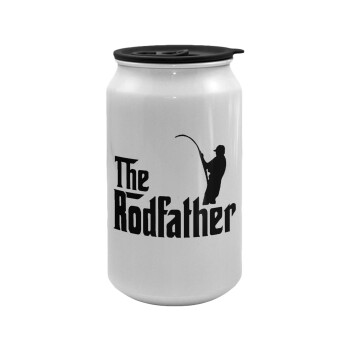 The rodfather, Κούπα ταξιδιού μεταλλική με καπάκι (tin-can) 500ml