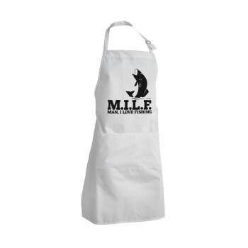 M.I.L.F. Mam i love fishing, Ποδιά μαγειρικής BBQ Ενήλικων