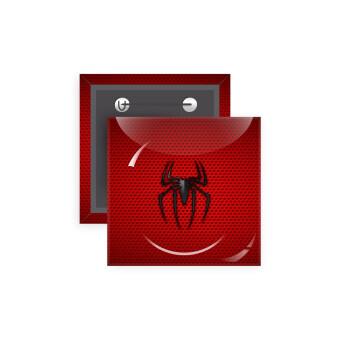 Άνθρωπος αράχνη, Κονκάρδα παραμάνα τετράγωνη 5x5cm
