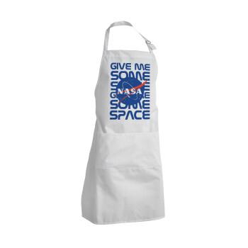 NASA give me some space, Ποδιά μαγειρικής BBQ Ενήλικων