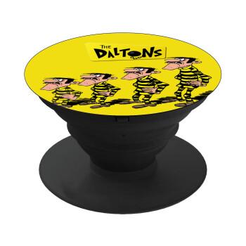 The Daltons, Pop Socket Μαύρο Βάση Στήριξης Κινητού στο Χέρι